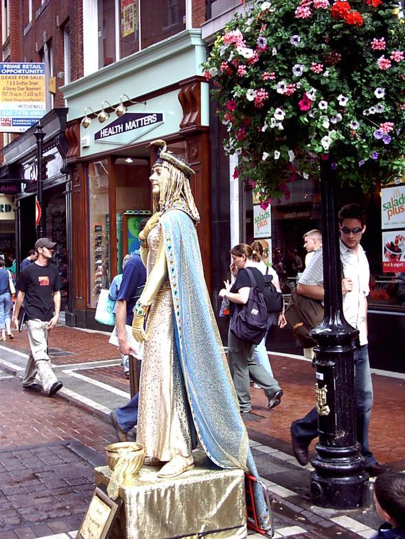 Grafton St. Dublin, Ireland