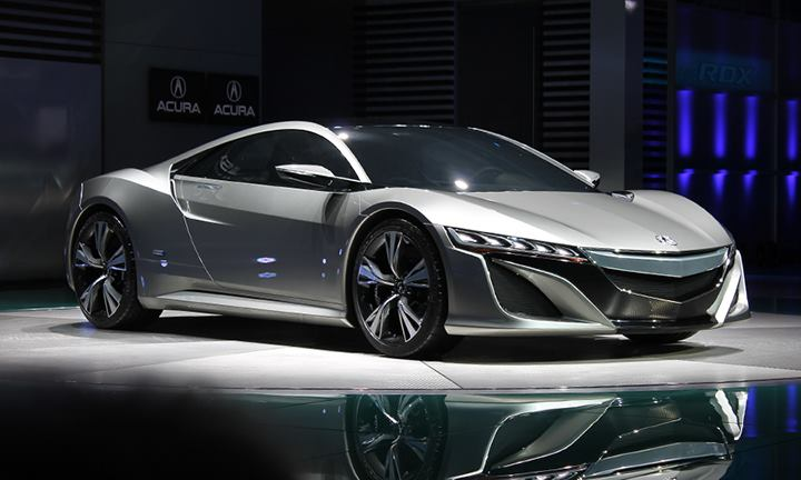2013? Acura NSX Detroit Reveal | Art of the State