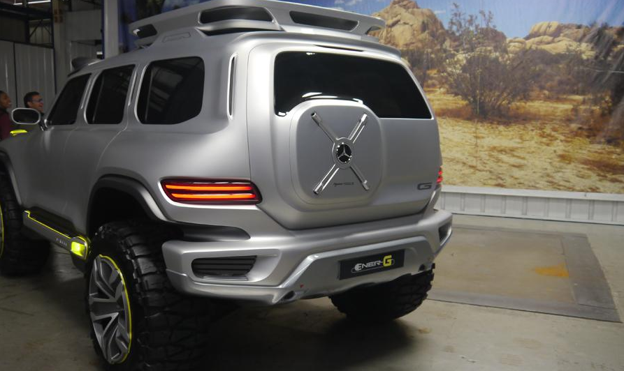 Mercedes Benz Ener G Force Debut L A Auto Show Art Of The State