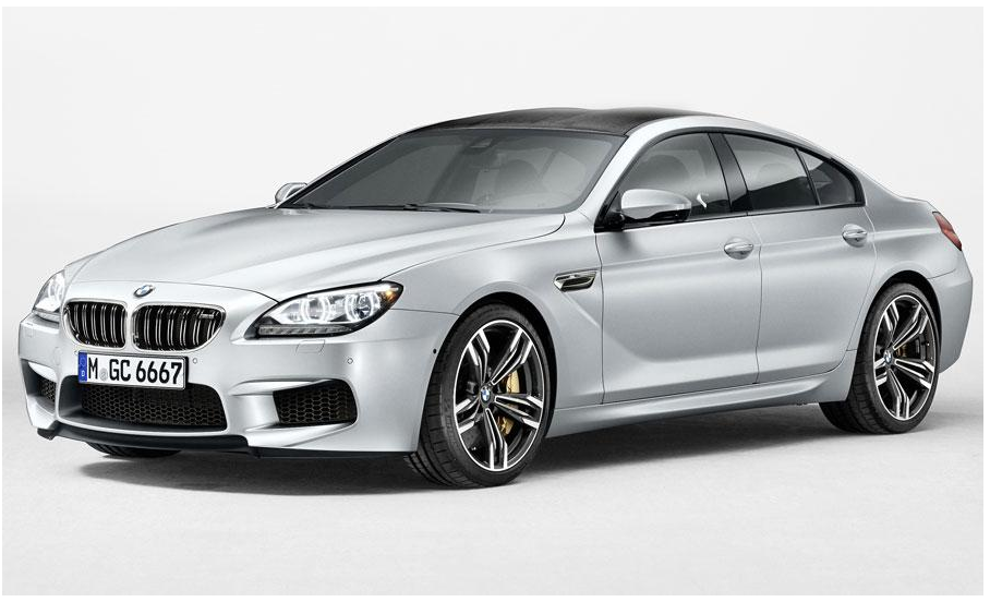 BMW M6 Gran Coupe set for Detroit  (1/4)