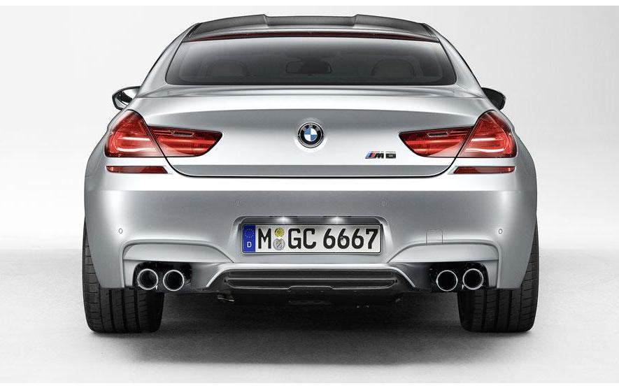 BMW M6 Gran Coupe set for Detroit  (3/4)