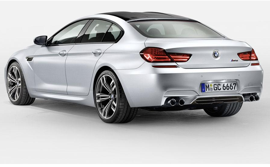 BMW M6 Gran Coupe set for Detroit  (4/4)